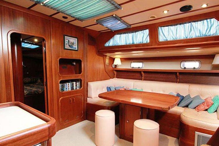 Motorsailer boat for rent in Alimos