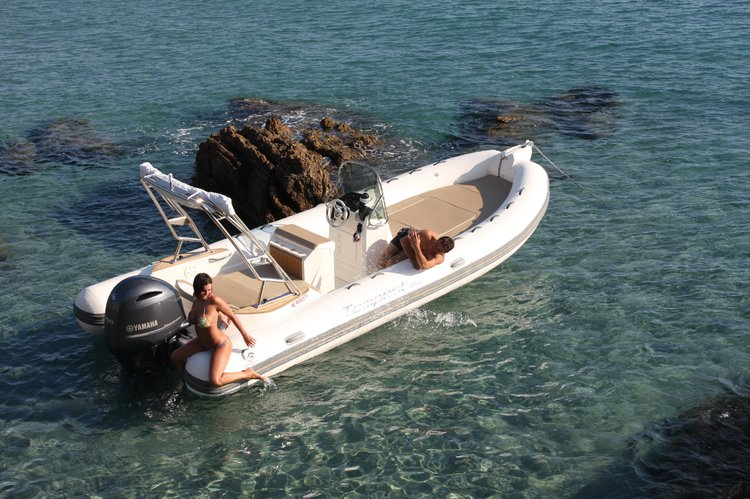 Rigid inflatable boat for rent in Lagos