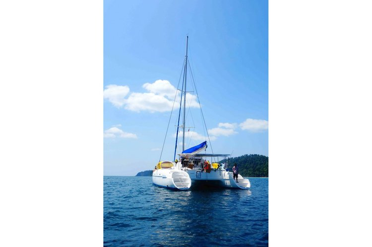 Boat for rent Fountain Pajot 46.0 feet in Muang, Thailand