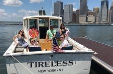 Tour New York Harbor in this beautiful 35' Maine Coaster
