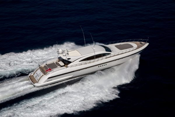 Enjoy the French Riviera on this luxurious Overmarine mega yacht