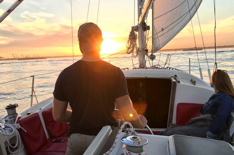 Sail Aboard Sailing Yacht Sunset!