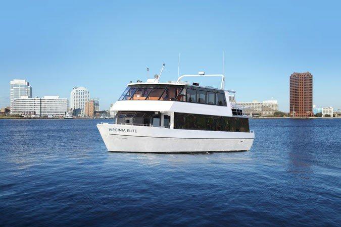 Explore Virginia on a luxurious & comfortable motor yacht