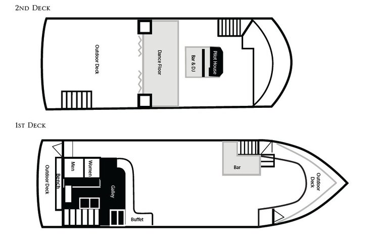 Mega yacht boat rental in Alameda, CA