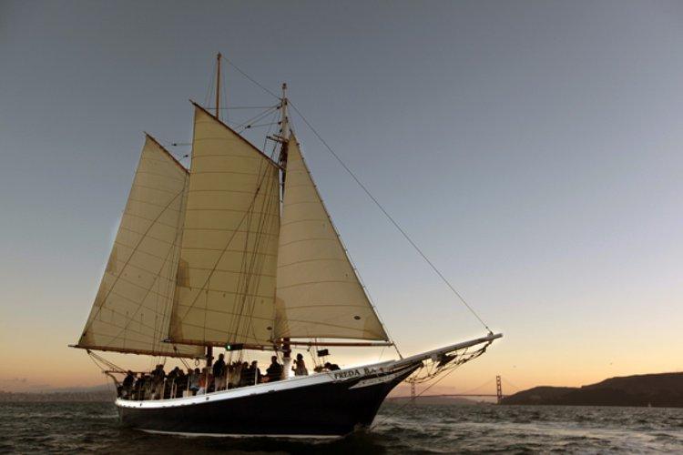 Schooner boat for rent in Sausalito