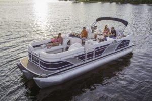Set your dreams in motion in Michigan onboard 25' Aqua Patio