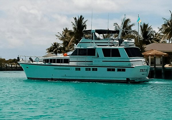 Boat for rent Chris Craft 65.0 feet in Old Pioneer Dock, Bahamas