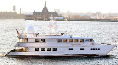 Set sail in New Jersey onboard 130' motor yacht