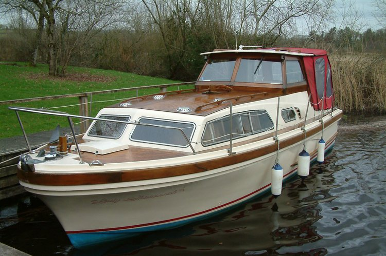 New boat on Lough Derg