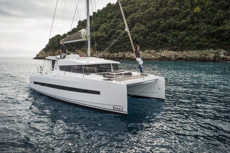 Explore Grenada onboard this exquisite catamaran