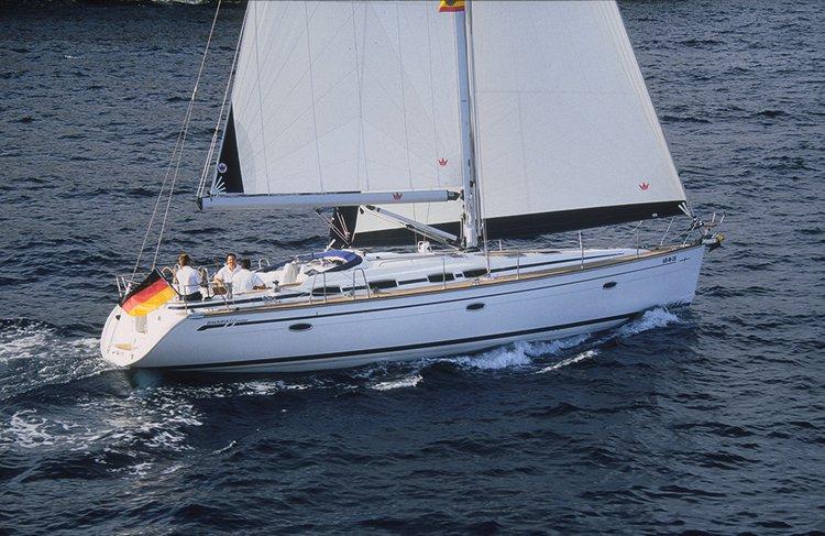 Sail Split region waters on a beautiful Bavaria Yachtbau