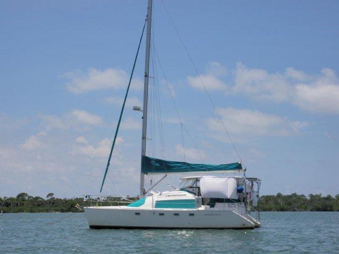 Catamaran boat for rent in San Diego