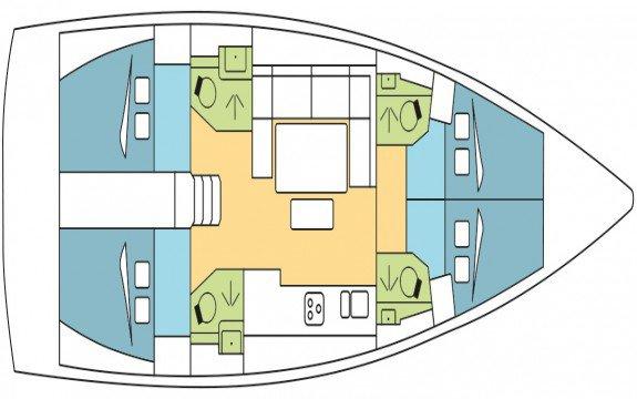 Sloop boat rental in Marseille, France