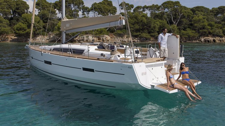 Have fun in France onboard Dufour 460 Grand Large Liberty