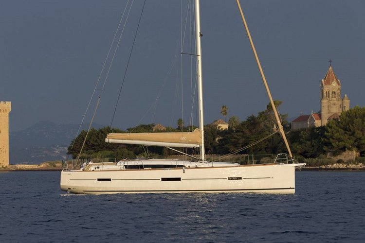 Discover Ionian Islands surroundings on this Dufour 460 GL Dufour Yachts boat