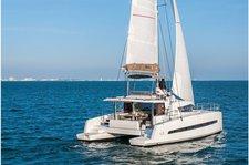 Explore Bas du Fort onboard 43' sailing catamaran