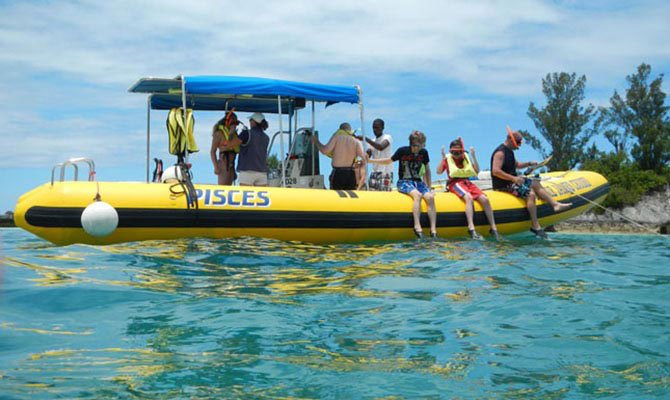 Experience the thrill onboard speedy rigid inflatable boat