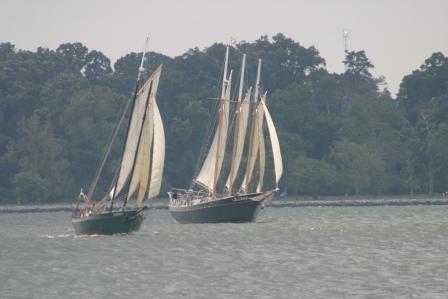 Set Sail for a By-Gone Era in Virginia onboard 105' Schooner