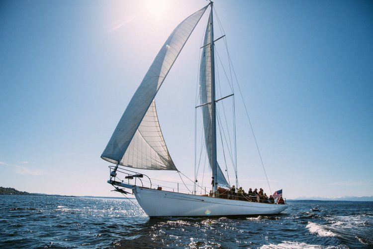 Set sail in Seattle, Washington onboard 62' historical sailing yacht