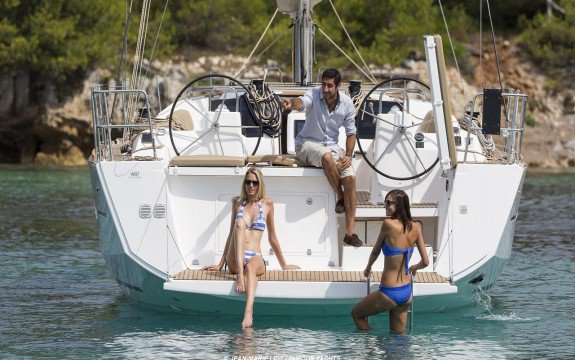 Have a fantastic time in France onboard Dufour 460 Grand Large Liberty