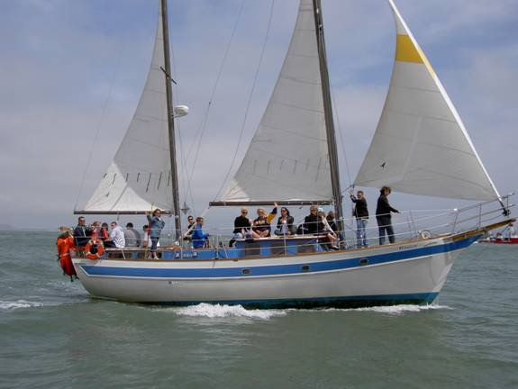Boating is fun with a Ketch in Sf