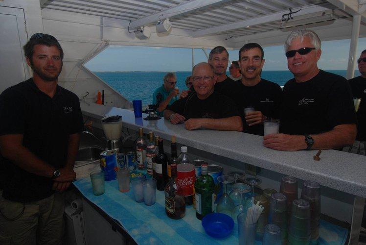 Discover Nassau surroundings on this Custom Custom boat