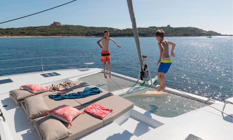 47.0 feet Fountaine Pajot in great shape