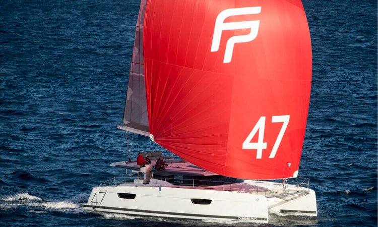 Discover Tenerife surroundings on this Saona 47 Fountaine Pajot boat