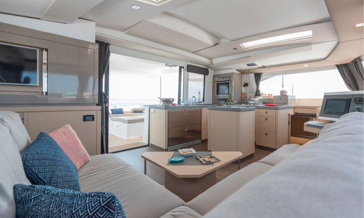 Boat for rent Fountaine Pajot 47.0 feet in Tenerife, Spain