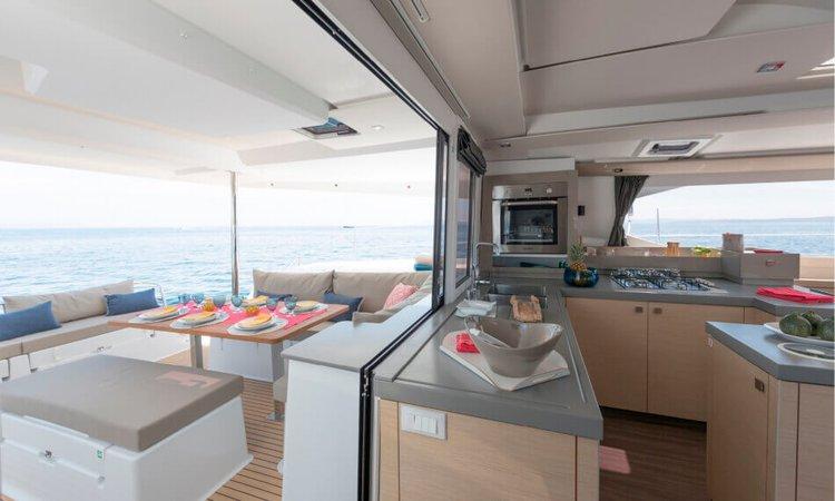 Catamaran boat rental in Tenerife, Spain
