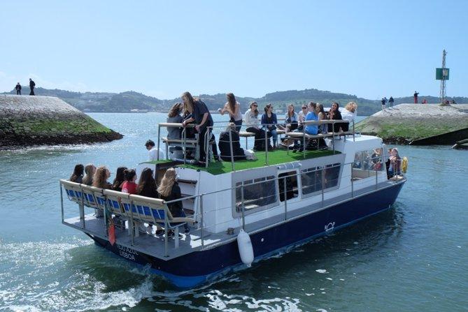 Classic boat for rent in Belém