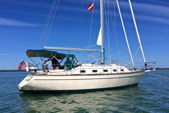 Beautiful Sailing Yacht