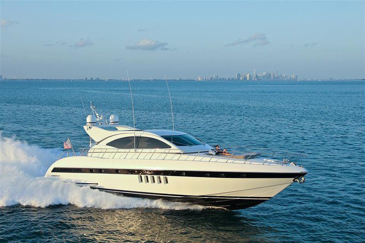 72' Mangusta Maxi Open YCM Luxury Yacht for Charter in Miami, Bahamas, ...