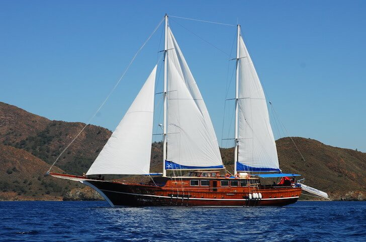 Custom's 114.82 feet in Marmaris