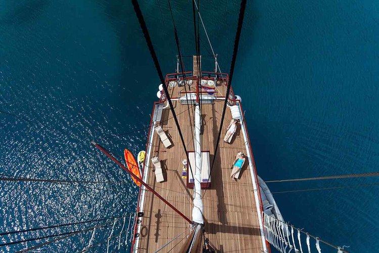 Custom's 114.82 feet in Split