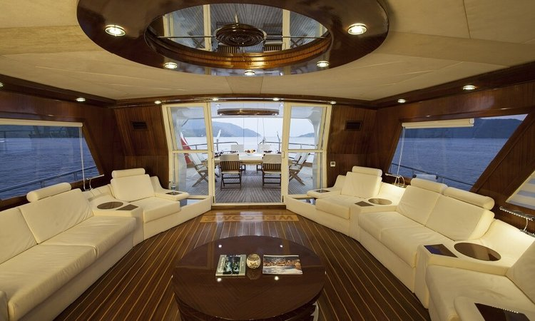 Classic boat for rent in Gocek