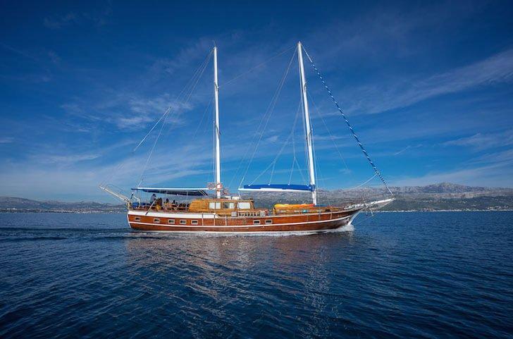 Make your holidays memorable in Split, Croatia onboard 92' Gulet