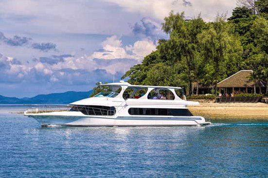 Cruise in style in Phuket, Thailand aboard 70 ft luxurious motor yacht