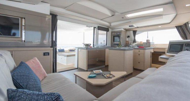Discover Phuket surroundings on this Saona 47 Fountaine Pajot boat