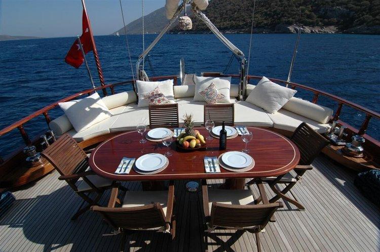 Discover Bodrum surroundings on this Custom Ethemoglu boat