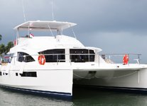 Awesome Leopard 51 available for charter in Sentosa Cove