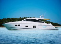 Set sail in Sentosa Cove, Singapore aboard  60' luxurious motor yacht