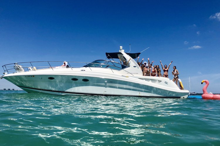 Luxury and Affordable - SKY 45' Sea Ray Cabin Cruiser