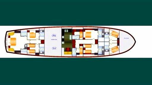 Discover  surroundings on this Custom Custom boat