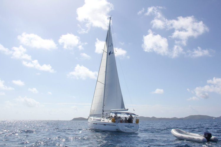 Boating is fun with a Bavaria in Nanny Cay