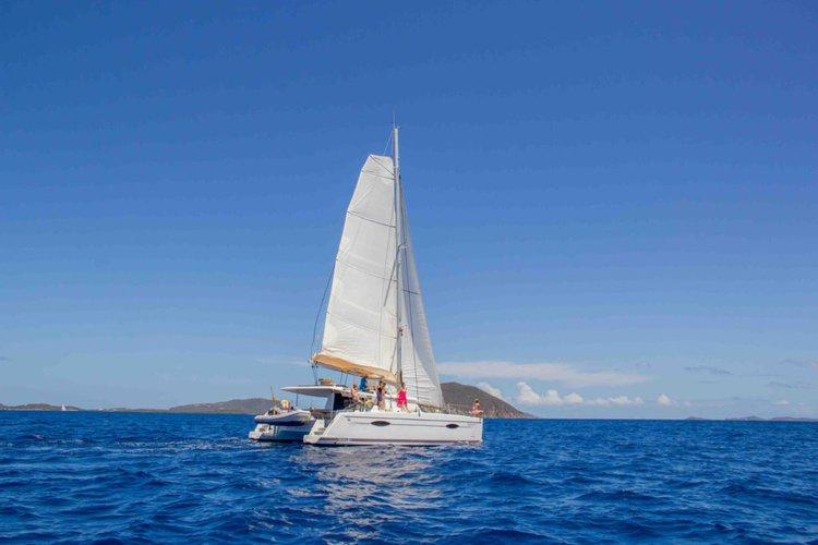 Catamaran boat rental in Nanny Cay, British Virgin Islands