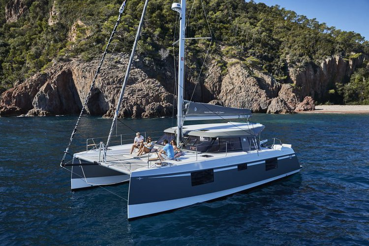 Sail through the British Virgin Islands aboard this glorious Open 40