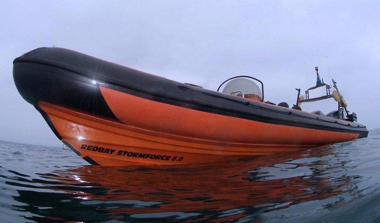 It's time for Adventure in Kalkara, Malta aboard Redbay Stormforce 8.4