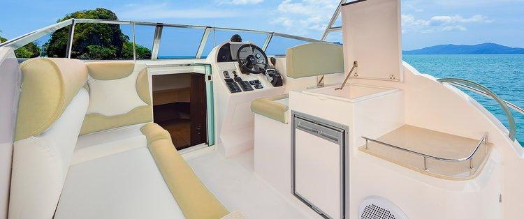 Boat for rent Silvercraft 34.0 feet in New Marina Limassol, Cyprus