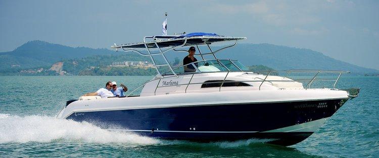 Charter this elegant Silvercraft 34' in Limassol